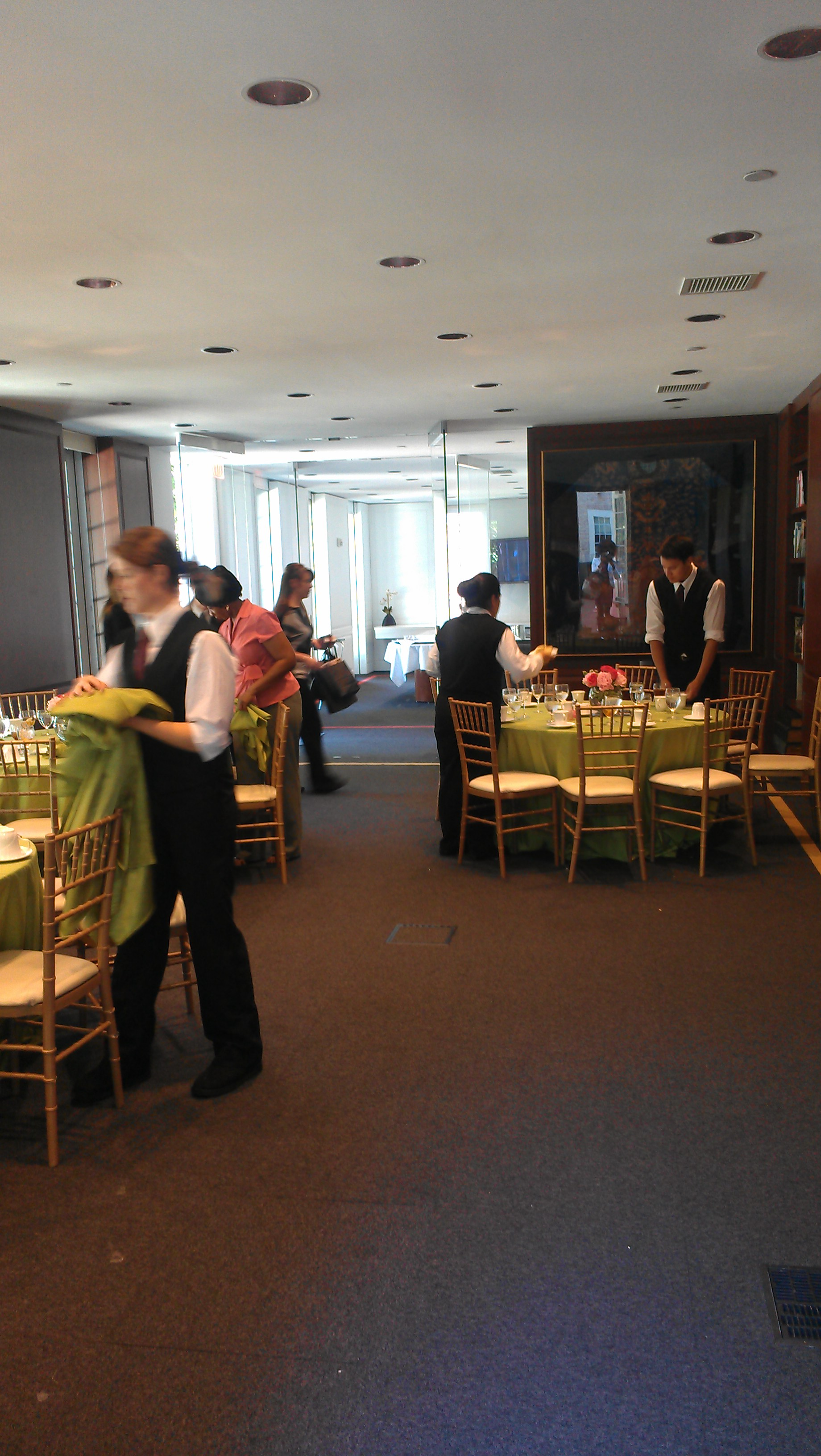 small wedding and event reception