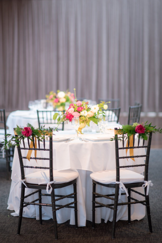 chic sweetheart table setup new york wedding planner statuesque events