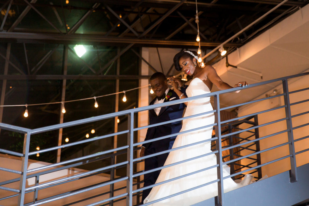 bride and groom tribeca rooftop wedding new york wedding planner statuesque events