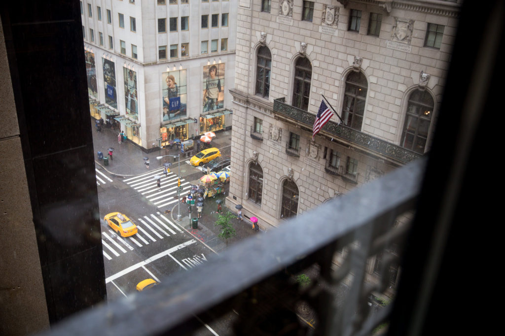 view from st regis hotel new york 5th avenue new york wedding planner statuesque events