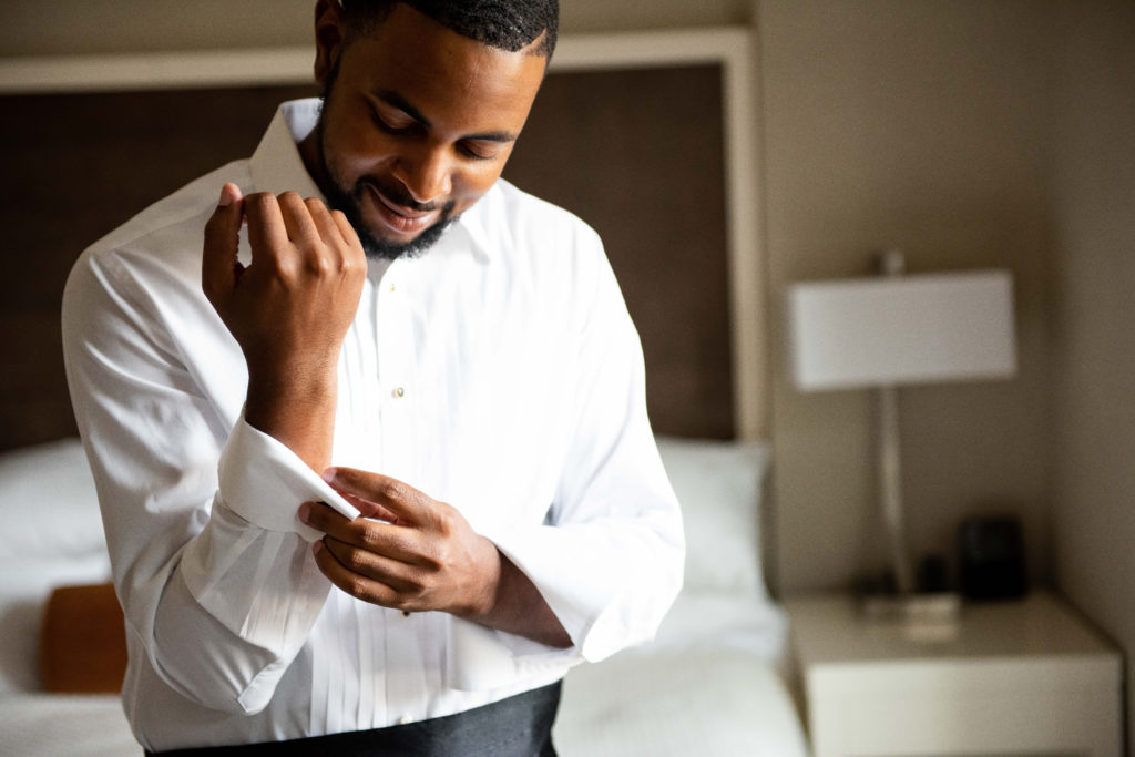 groom wedding day getting ready maryland wedding planner statuesque events