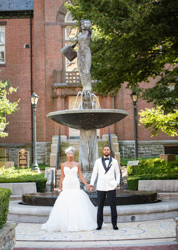 black power couple maryland wedding planner statuesque events