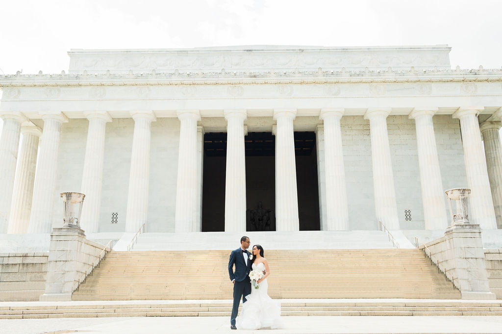 wedding at national mall washington dc statuesque events
