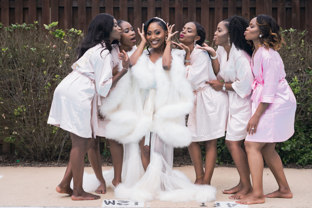 bridesmaid bathrobe ideas maryland wedding planner statuesque events