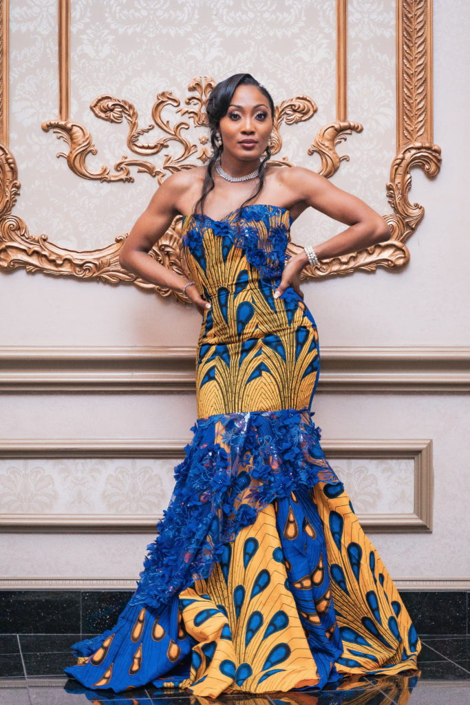 cameroonian wedding dress idea statuesque events maryland wedding planner