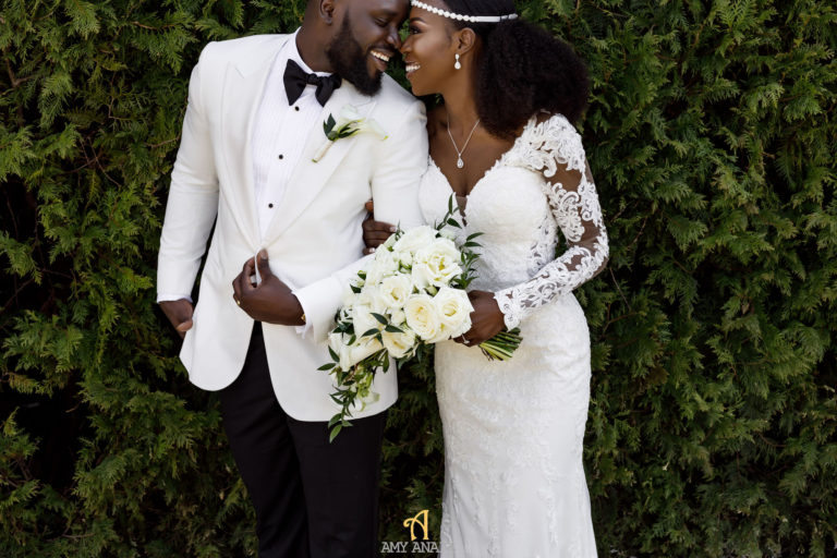 african bride and groom statuesque events