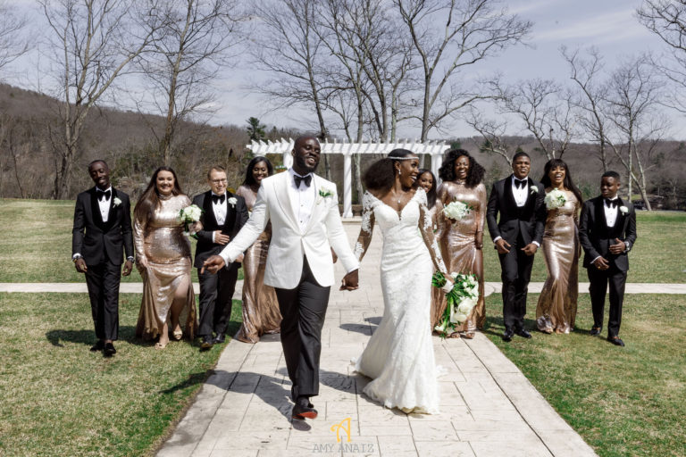 african american bridal party statuesque events