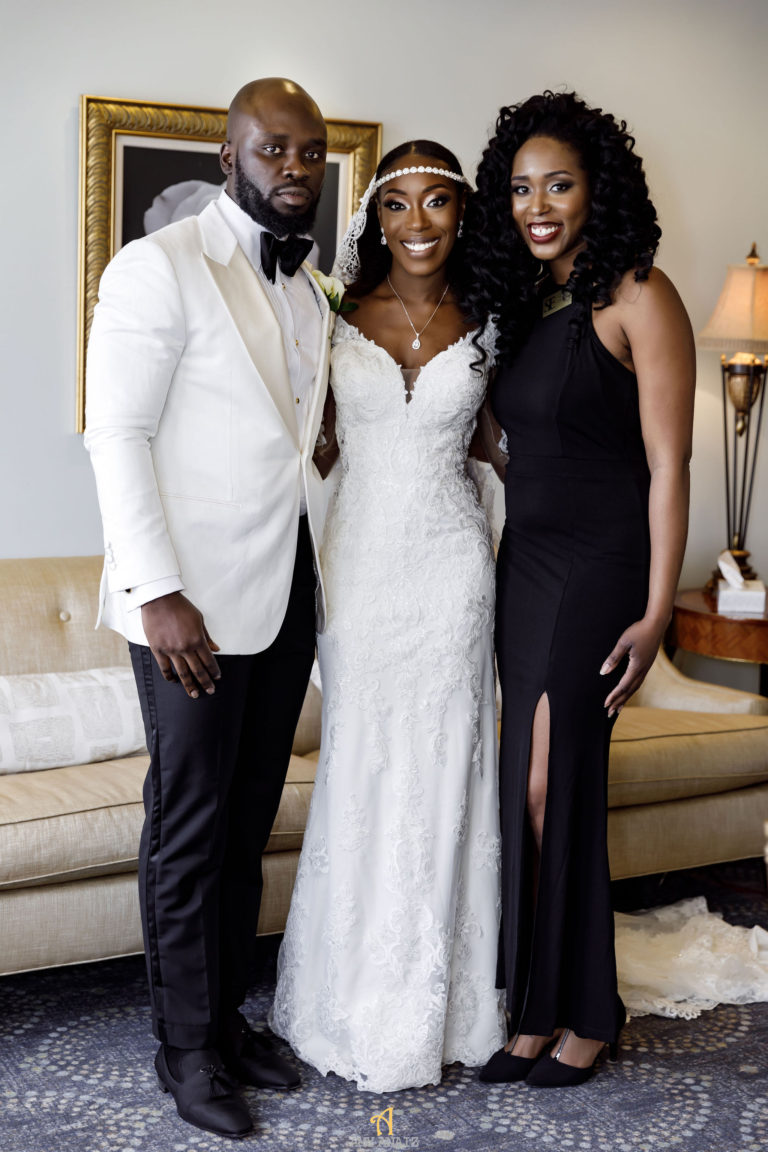 black wedding planner in new england statuesque events