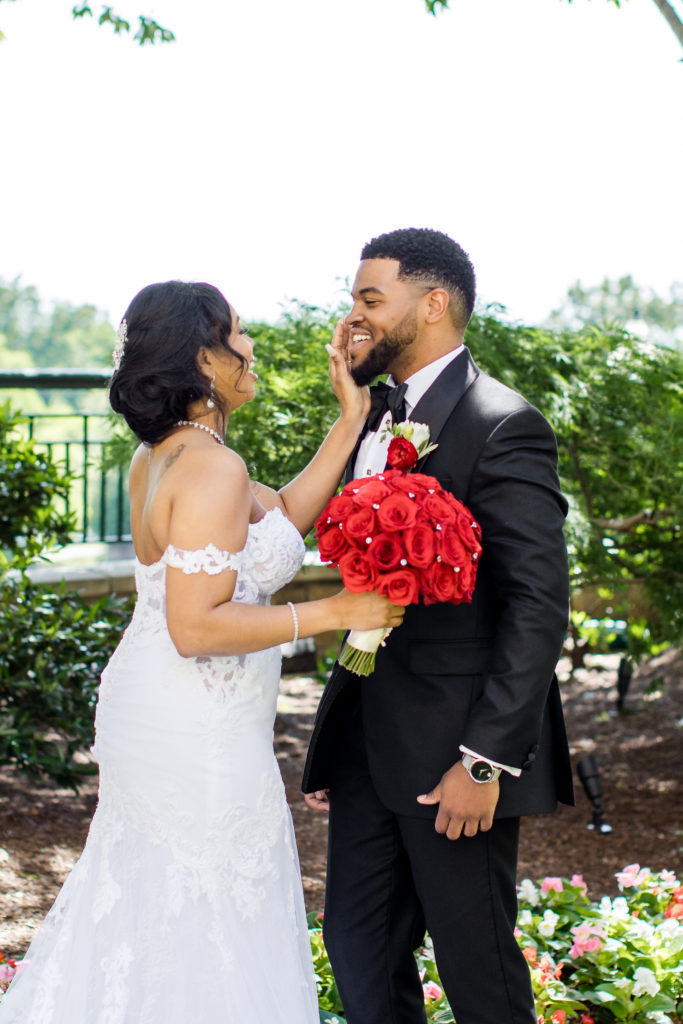 wedding at the mandarin oriental hotel washington dc bride and first look statuesque events