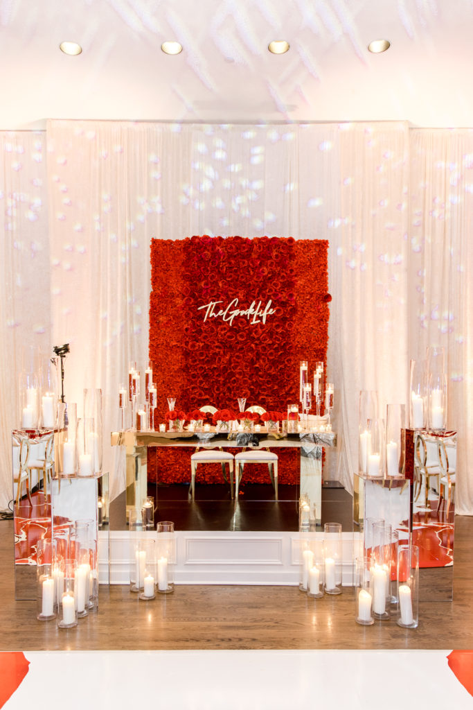 red white and gold wedding in washington dc statuesque events