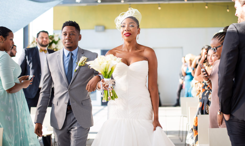 rooftop wedding maryland wedding planner statuesque events