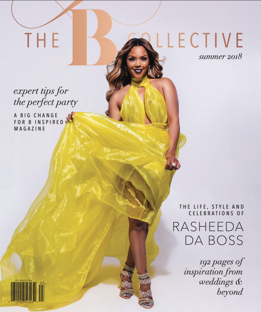 BCollective Magazine Summer 2018 featuring Rasheeda Statuesque Events New York Wedding Planner