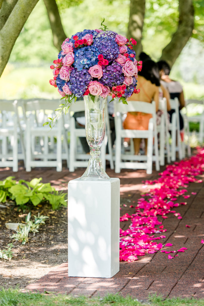 Maryland wedding ceremony location statuesque events