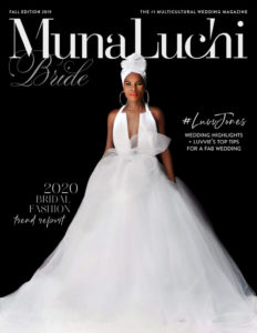 munaluchi bride Winter 2020 issue statuesque events washington dc wedding planner