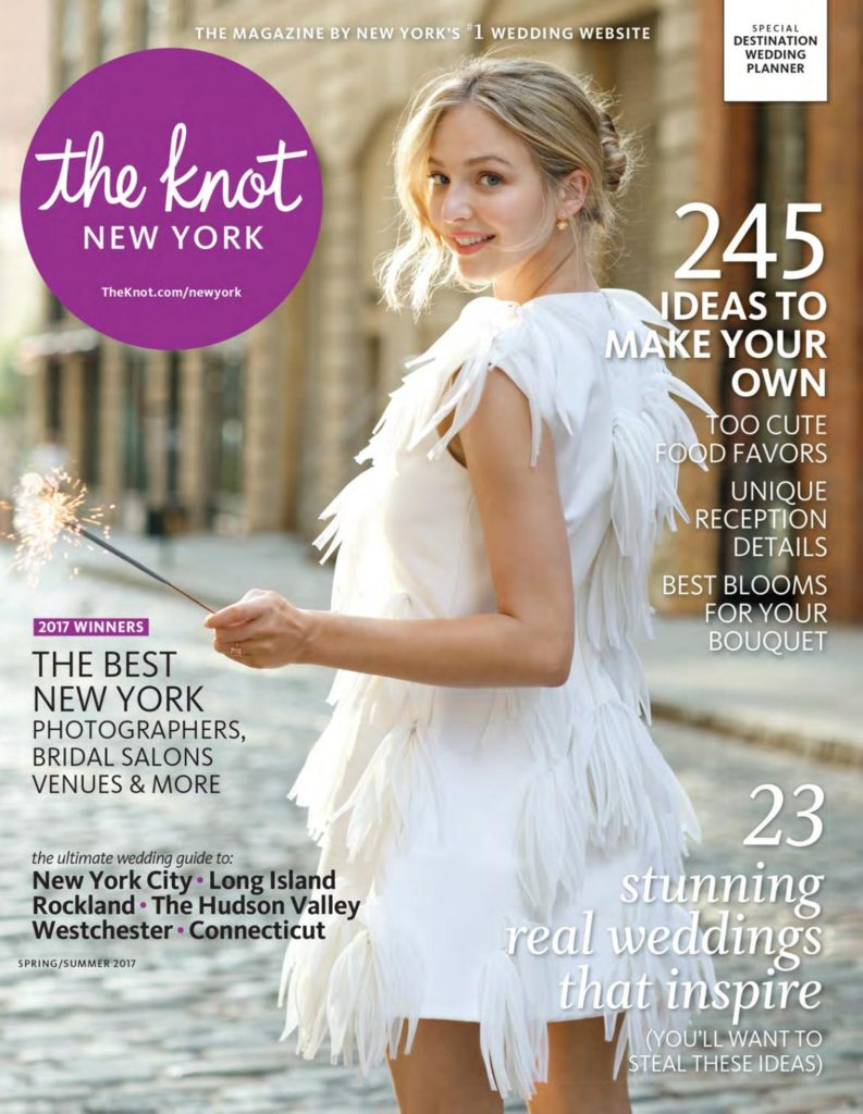 the knot new york Winter 2017 statuesque events new york wedding planner