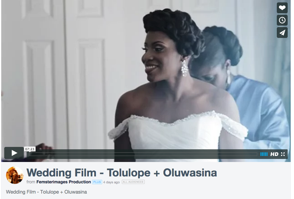[Video] Tolu & Sina's Blue and Yellow Wedding