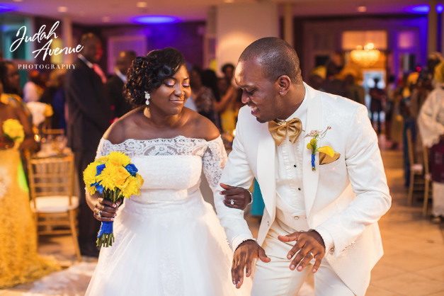 Seun and Bunmi Wedding Maryland Washington DC Nigerian Wedding Planner