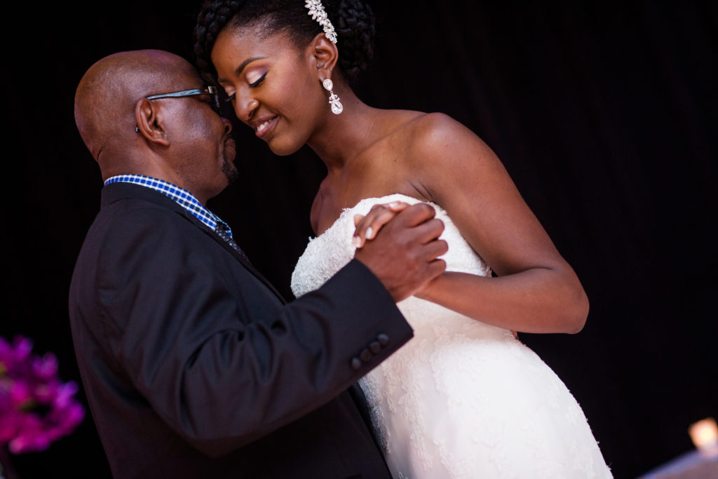 daddy daughter dance Nigerian wedding washington dc