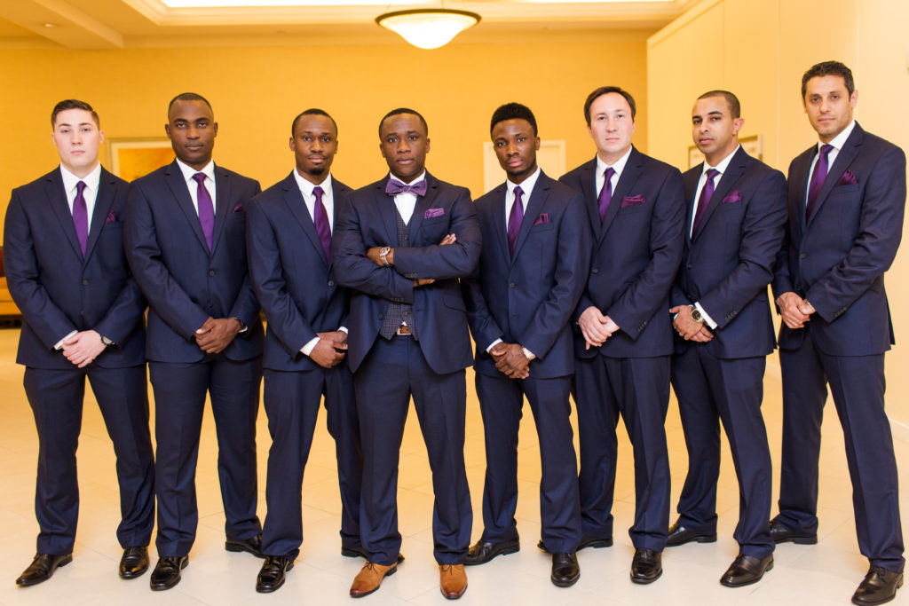 nigerian wedding groomsmen washington dc maryland