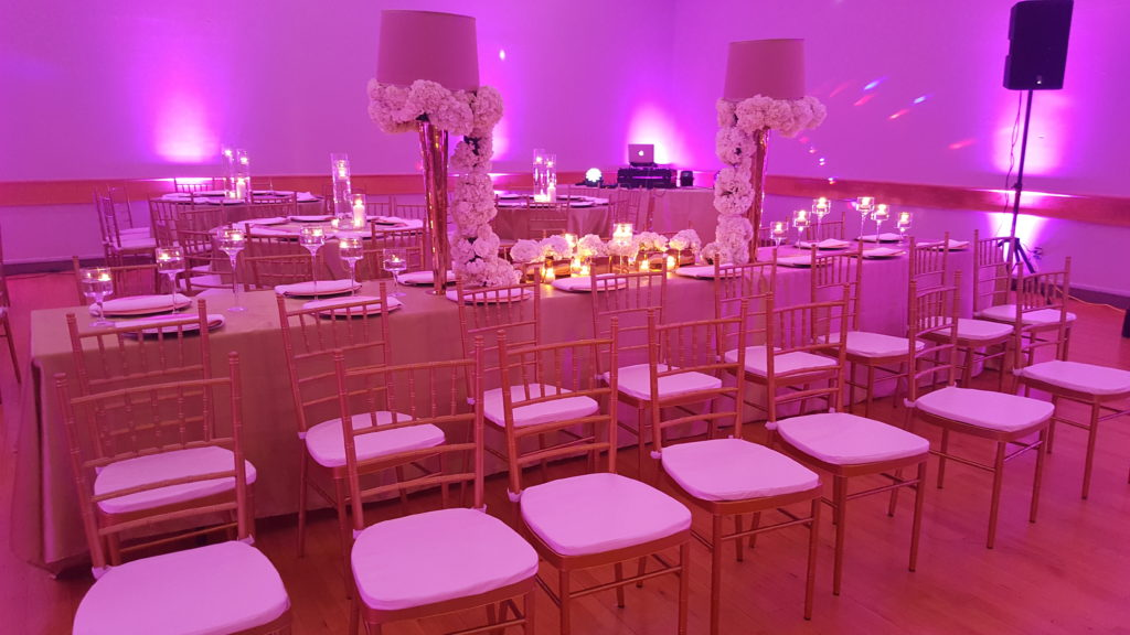 Washington DC event lighting and design traditional nigerian ghanian engagement