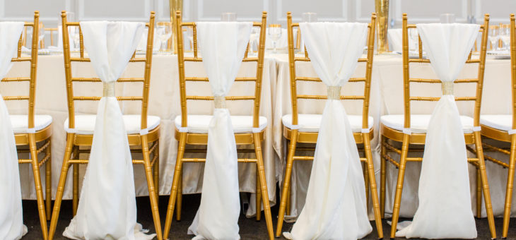 $5.00 Chiavari Chair Rental & Chiavari Chair Sashes