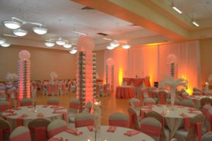 chiavari chairs in maryland. what hall looks like without chiavari chairs