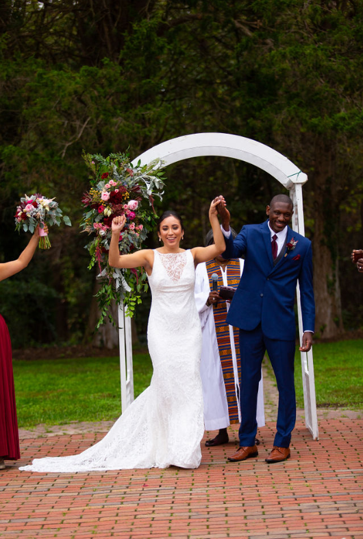 intercultural mexican sierra leone wedding
