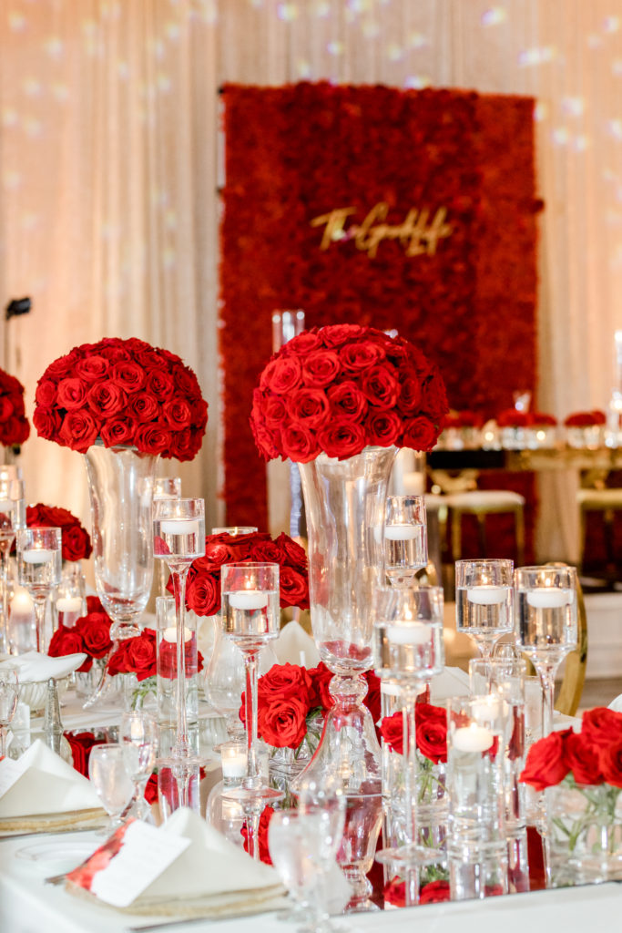 luxury event design at bethesda ballroom