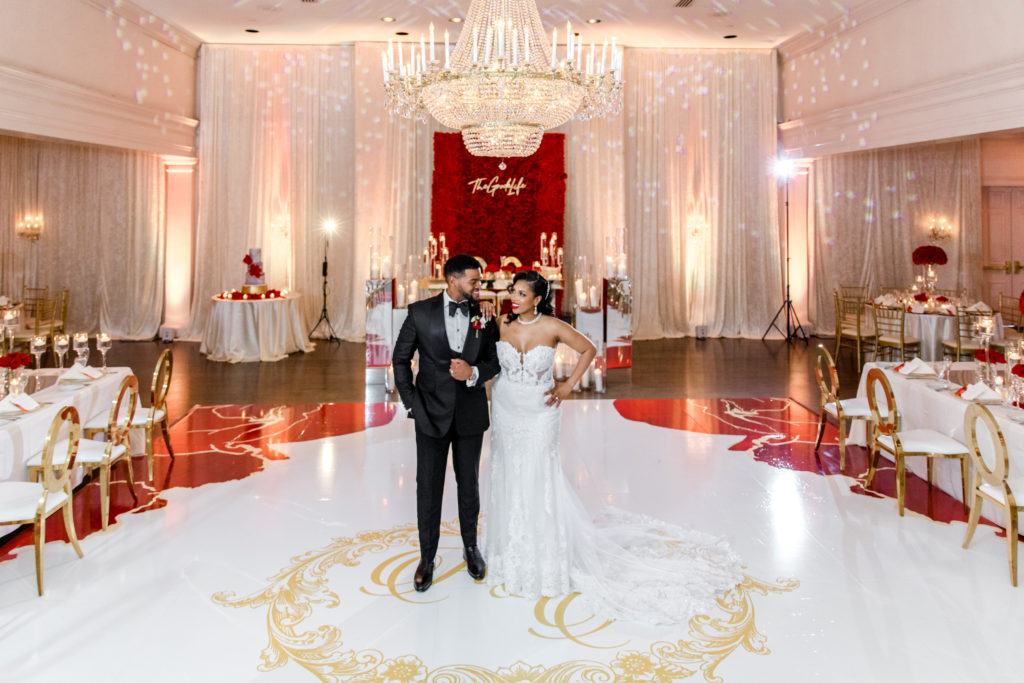 luxury wedding Bethesda Ballroom Maryland