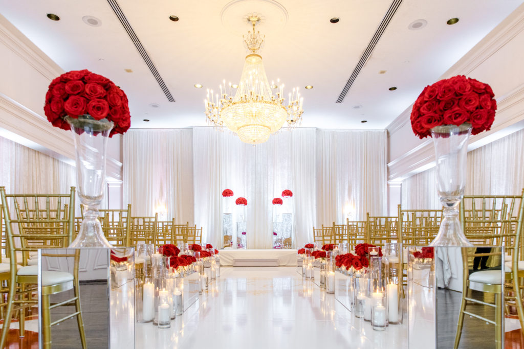 luxury ceremony design washington dc wedding planner