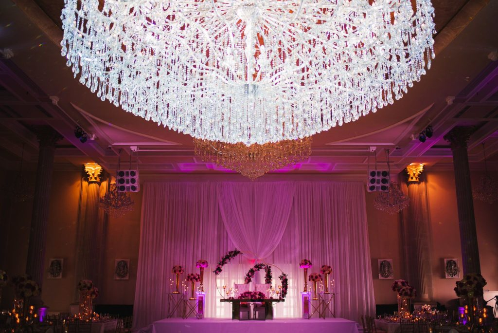 luxury wedding decor washington dc