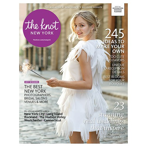 The Knot NY Real Wedding Feature