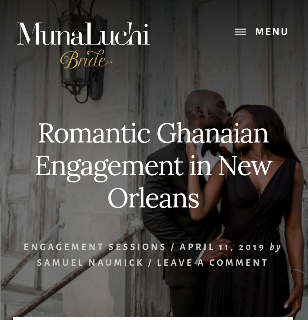 nana and tracy opoku wedding on munaluchi bride magazine statuesque events wedding planner connecticut