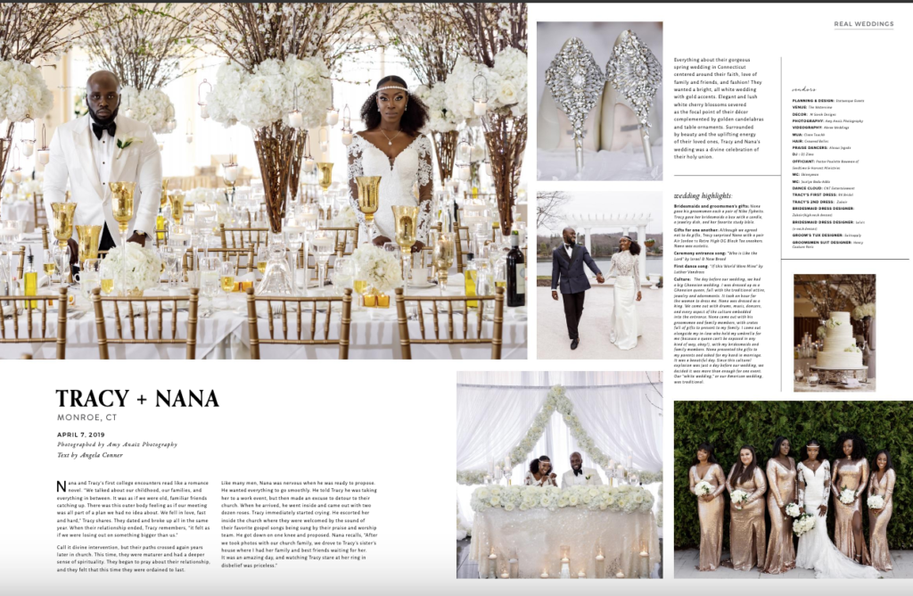 luxury ghanaian wedding planner in usa statuesque events new york connecticut new jersey munaluchi bride