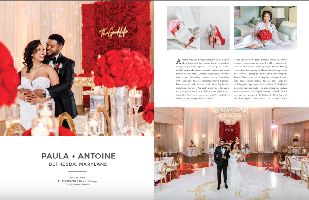 munaluchi bride Summer 2019 issue statuesque events washington dc wedding planner