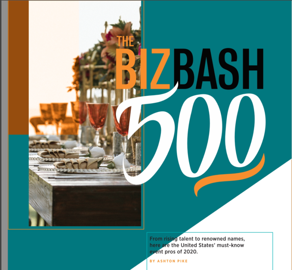 bizbash top 500 2020 statuesque events luxury wedding planner