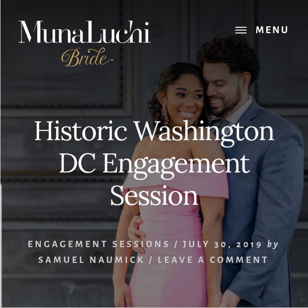 washington dc engagement session munaluchi bride statuesque events